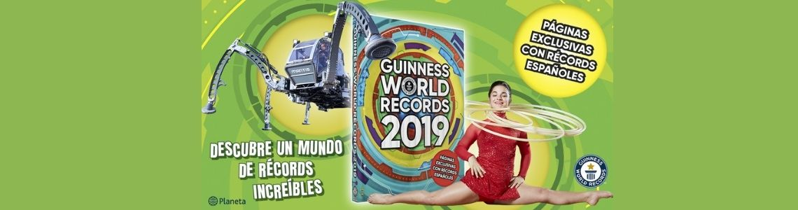 Los 8 récords más curiosos del Guinness World Records 2019
