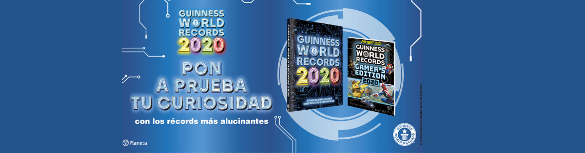 Los récords más curiosos del Guinness World Records 2020