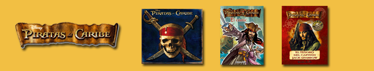 <div>Disney. Piratas del Caribe</div>