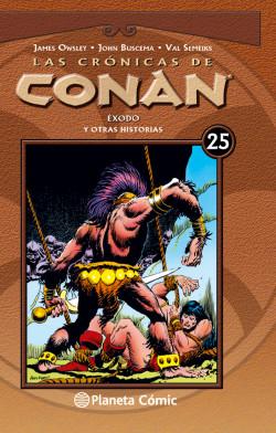 Las crónicas de Conan nº 25/34