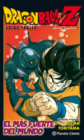 Dragon Ball Z Anime Comic El hombre más fuerte del mundo