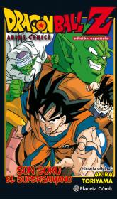 Dragon Ball Z Anime Comic Son Goku el Supersaiyano. Edición española