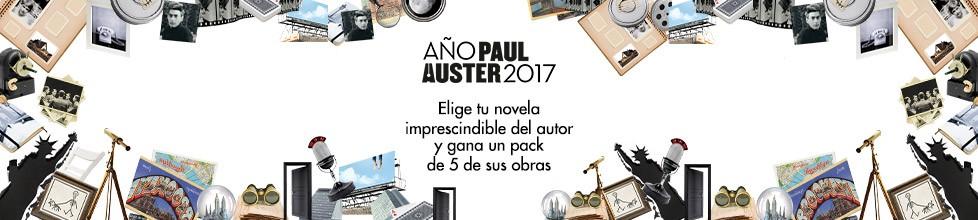 Participa y llévate 5 novelas de Paul Auster