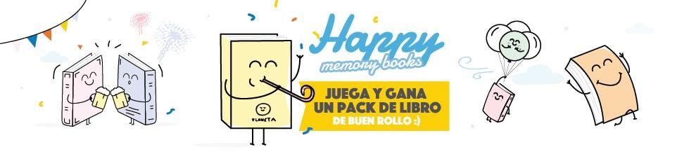 ¡Celebra el día de la Felicidad rodeado de libros!