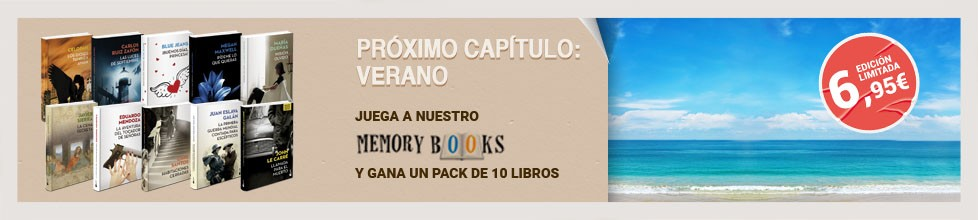 ¡Diviérte y llévate un pack de libros para disfrutar al máximo este verano!