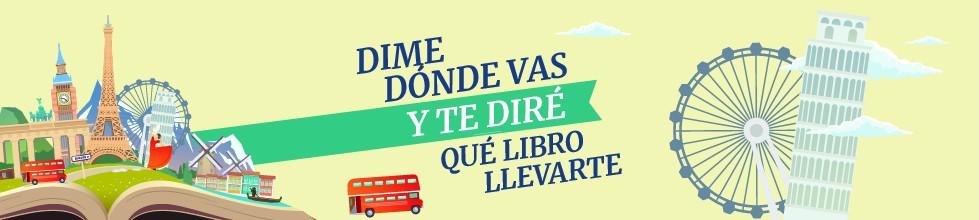 En función de tus preferencias viajeras, ¡te recomendamos qué libro debes meter en la maleta!