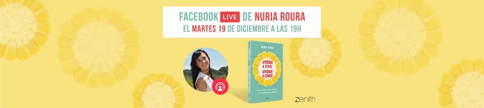 ¡No te pierdas el Facebook live de Núria Roure!