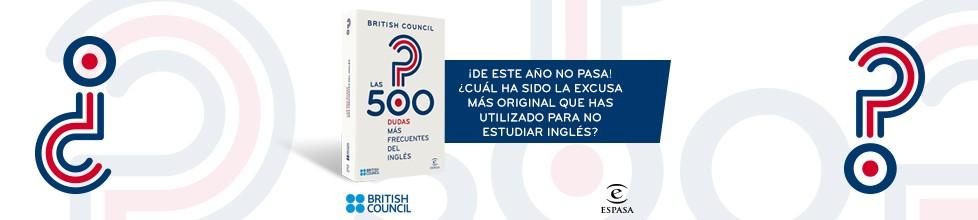 ¡Descubre las 500 dudas más comunes del inglés!